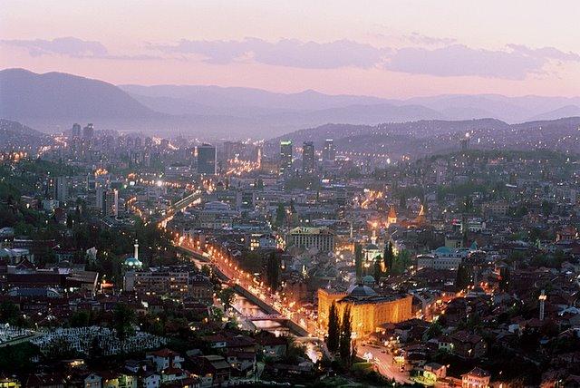 Sarajevo twilight