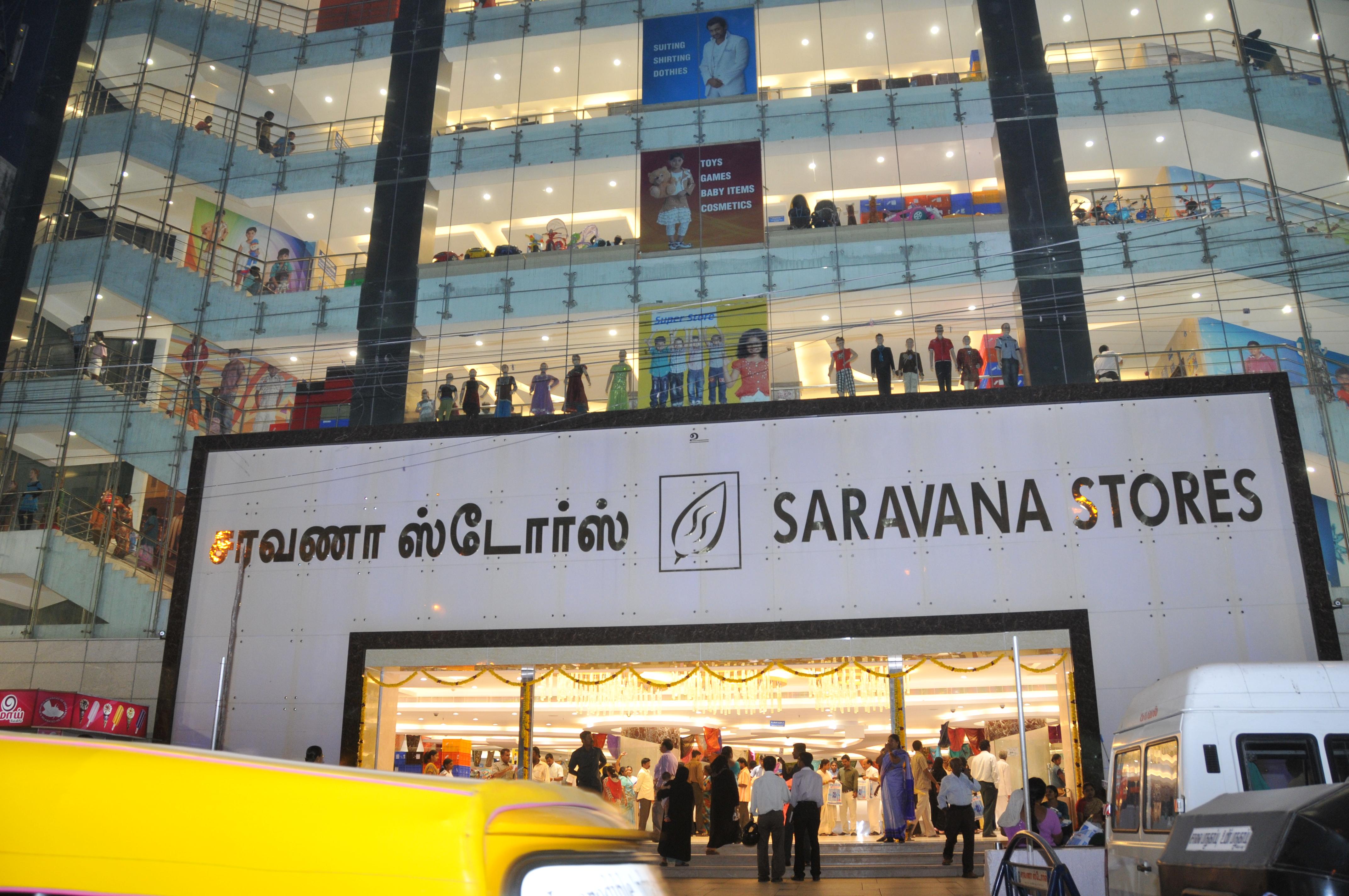 Saravana Stores Purasawalkam Car Parking