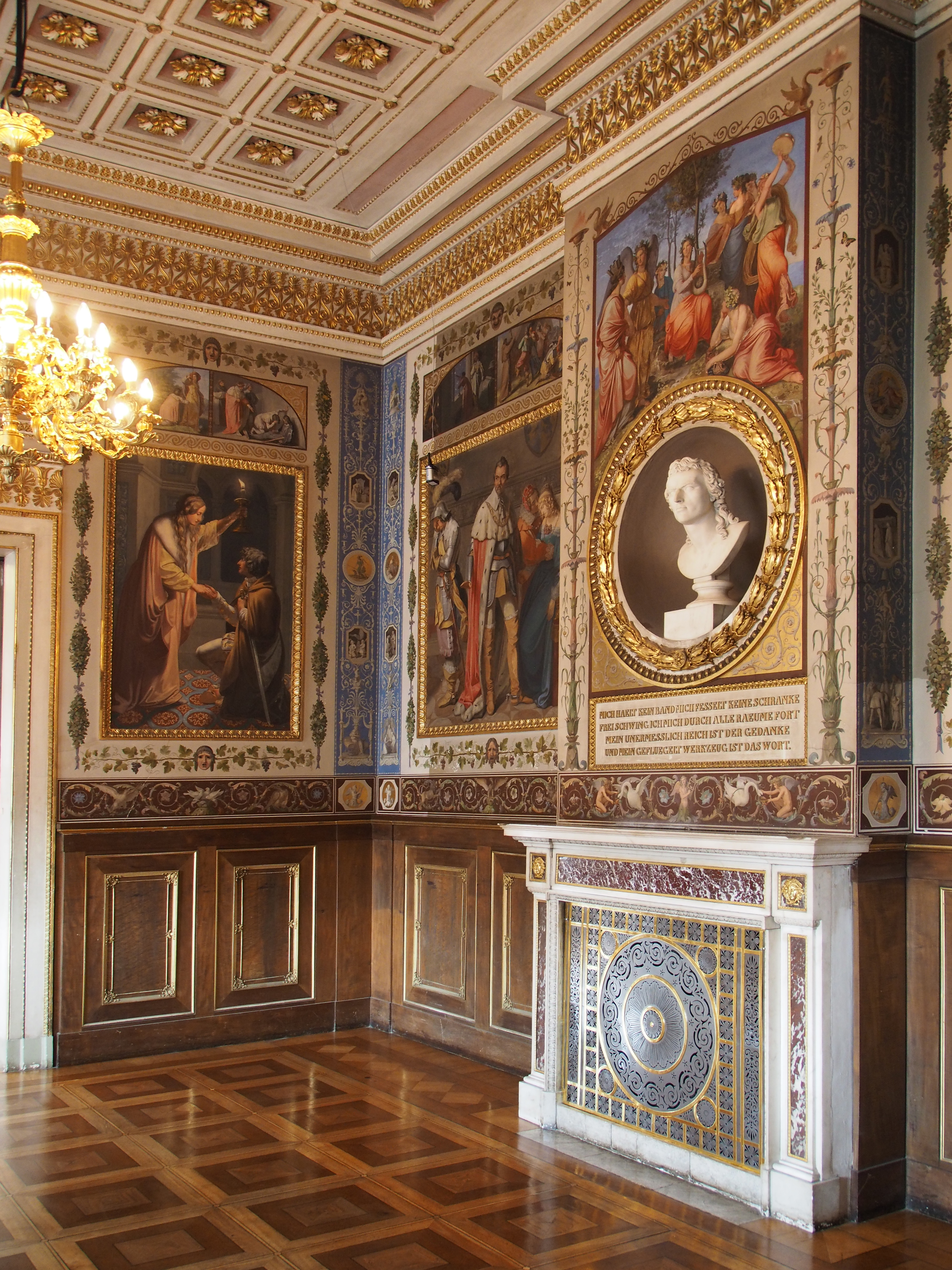 File:Schillerzimmer@Weimar Stadtschloss Innen.JPG - Wikimedia Commons