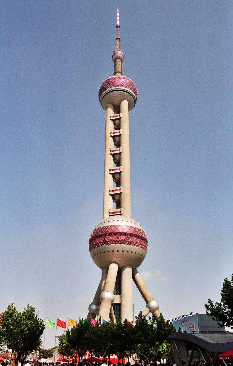 Superior Oriental Pearl Tower, Fifth Tallest