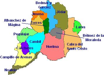 Comarca de Sierra Mágina - Wikipedia, la enciclopedia libre