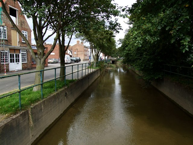 South Basin of the Horncastle Canal, Horncastle - geograph.org.uk - 563238