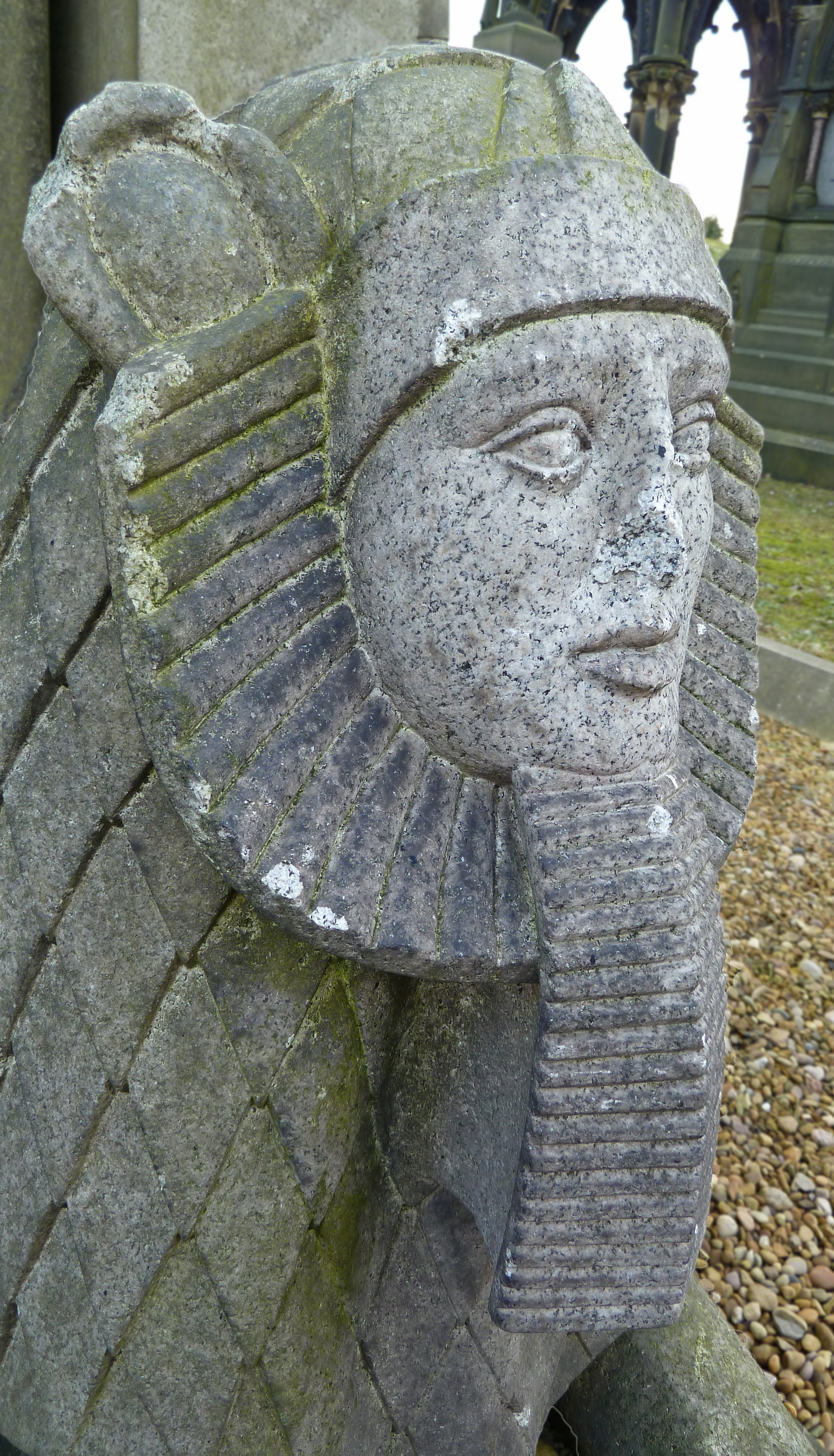 Image result for undercliffe cemetery images sphinx