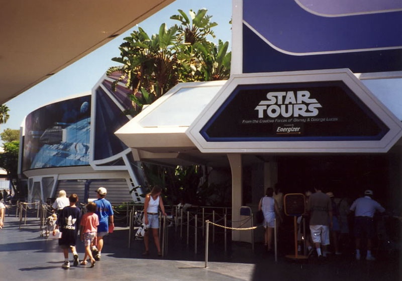 Star Tours Adventure Ride