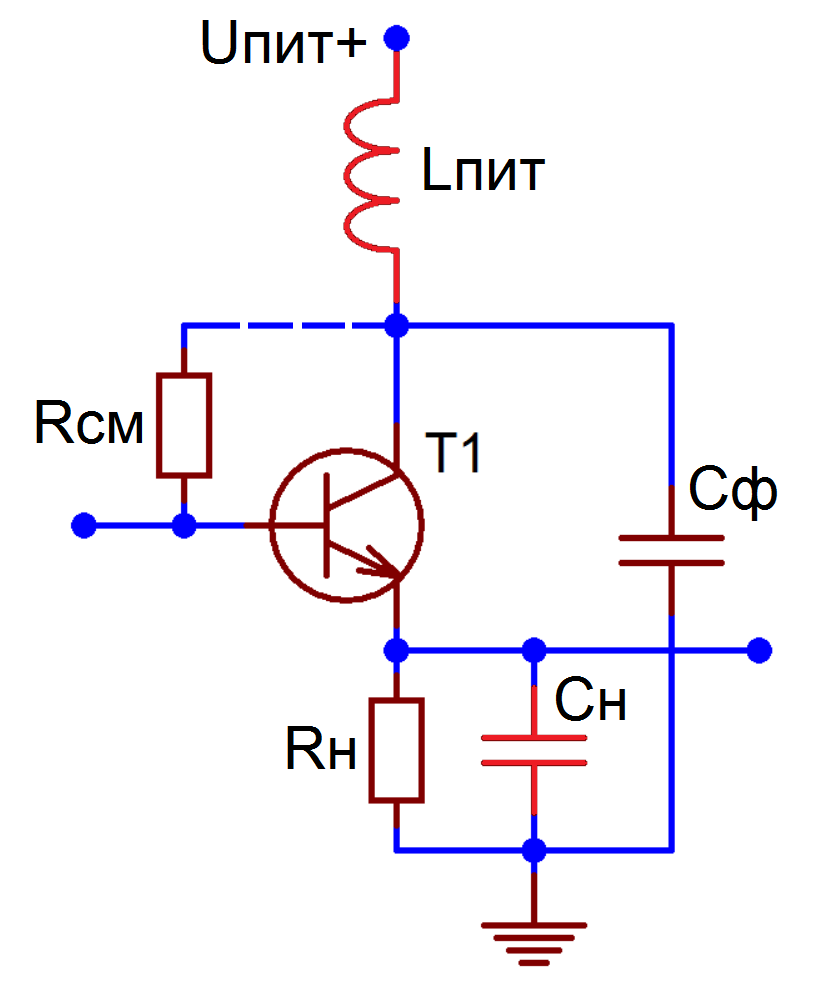Filesupressing Inductive Loops In An Emitter Follower 1 Circuit