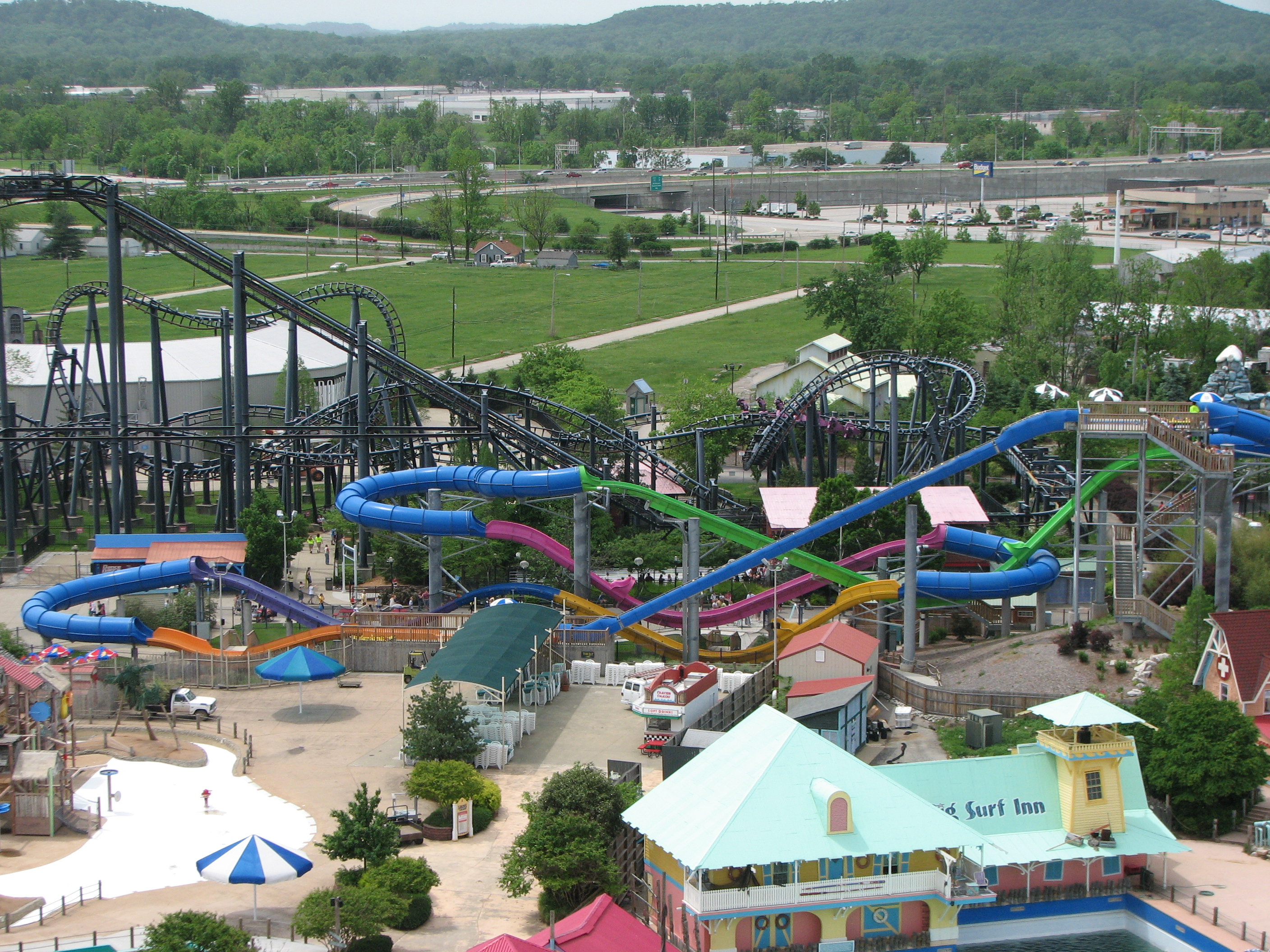 Six Flags Kentucky Kingdom Water Park Six Flags Kentucky Kingdom