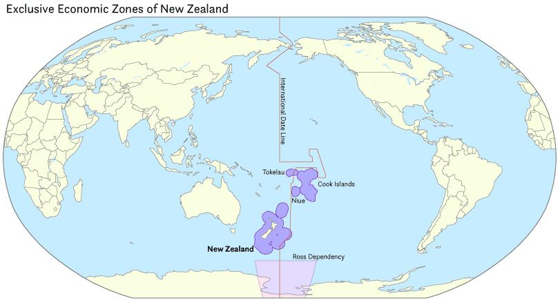 Exclusive economic zone of New Zealand - Wikipedia