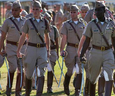 rotc m uniform a vintage Texas