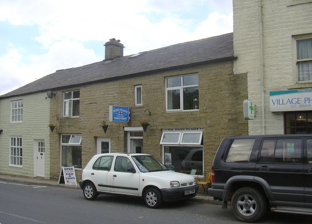 The Bizzy Plaice Fish and Chips, 7, Market St, Edenfield - geograph.org.uk - 1367561