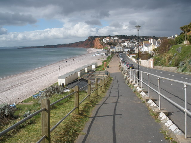 The Promenade, at Budleigh Salterton - geograph.org.uk - 1224740