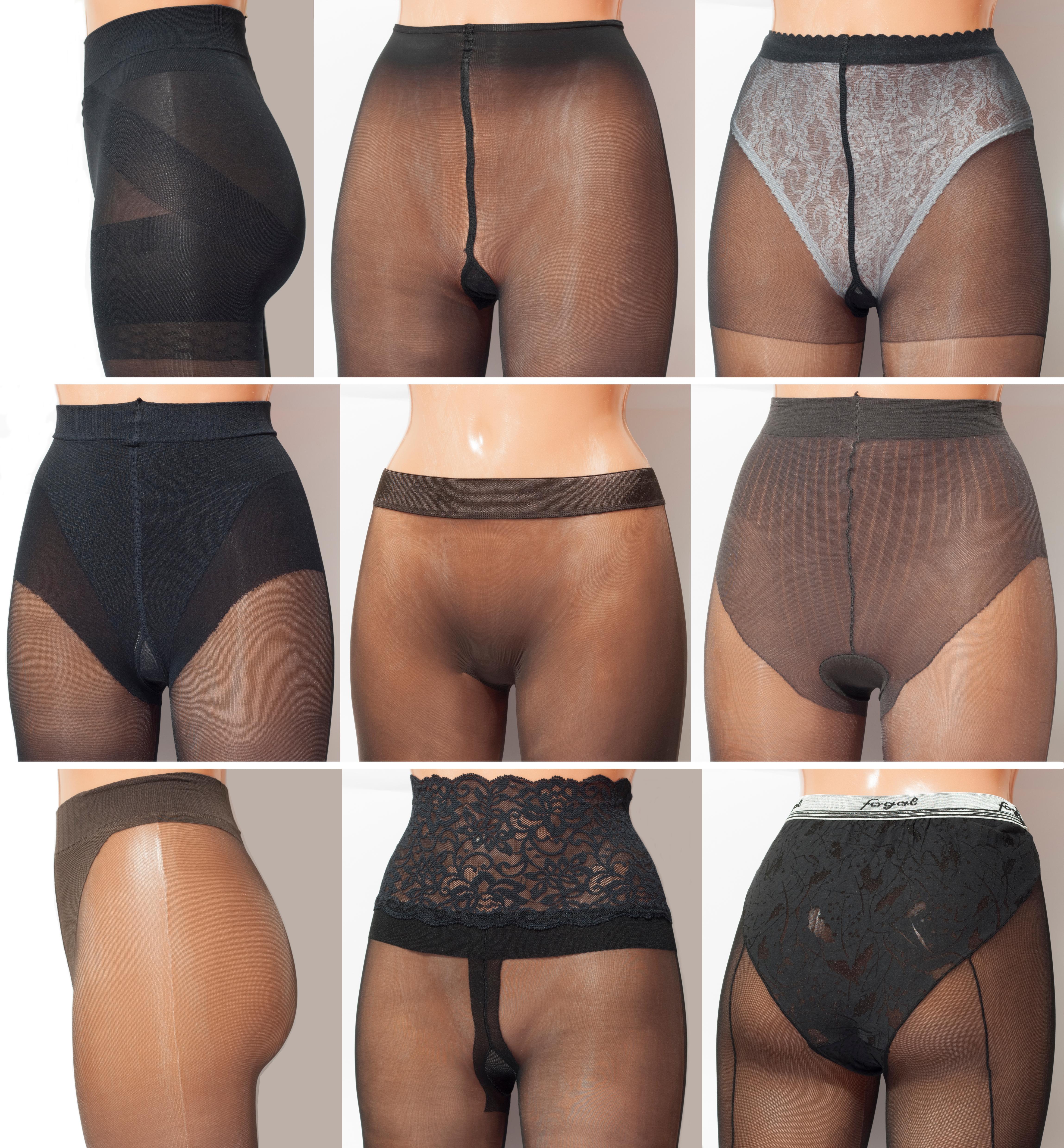 Pantyhose panties under Pantyhose panties