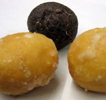 Timbits, sold by Tim Hortons, are popular in C...