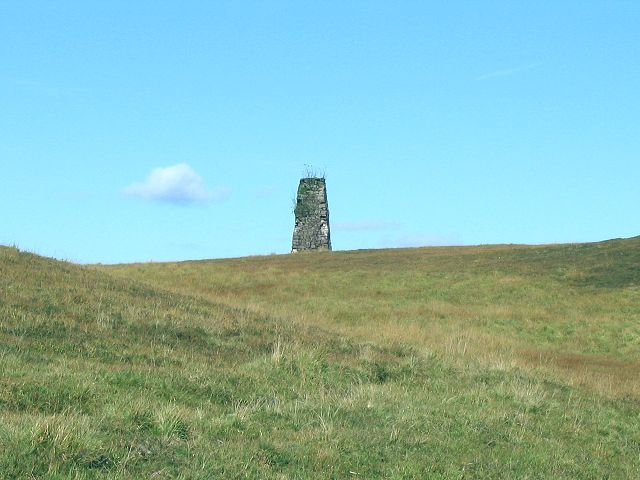 Tower southwest of Cray reservoir - geograph.org.uk - 257639