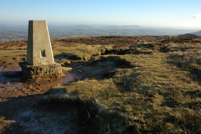 Trig point on the Black Hill - geograph.org.uk - 1072824