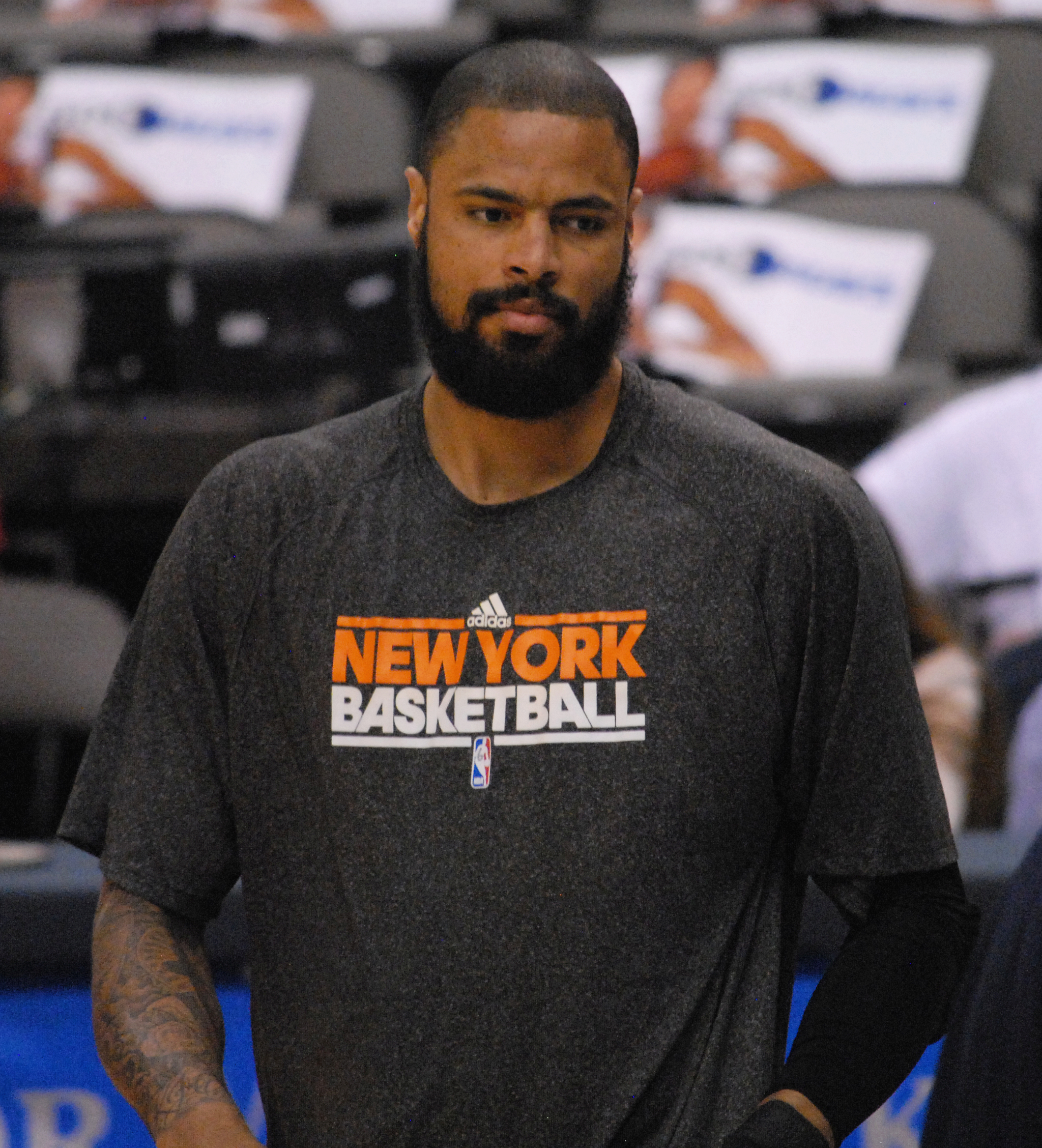 The 35-year old son of father  Frank Chandler and mother Vernie Threadgill Tyson Chandler in 2018 photo. Tyson Chandler earned a  million dollar salary - leaving the net worth at 55 million in 2018