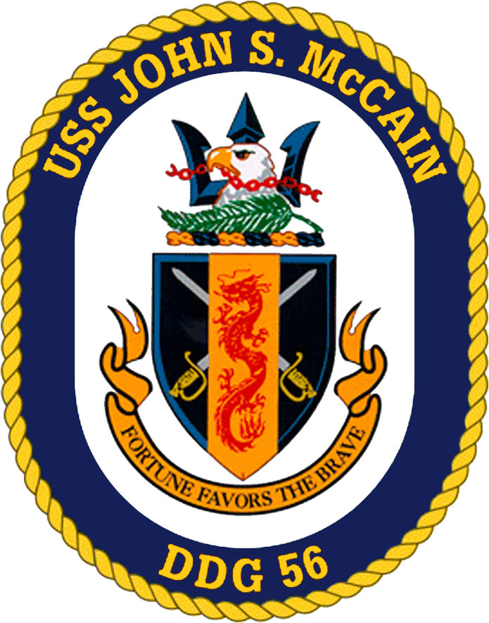 USS John S. McCain DDG-56 Crest.png