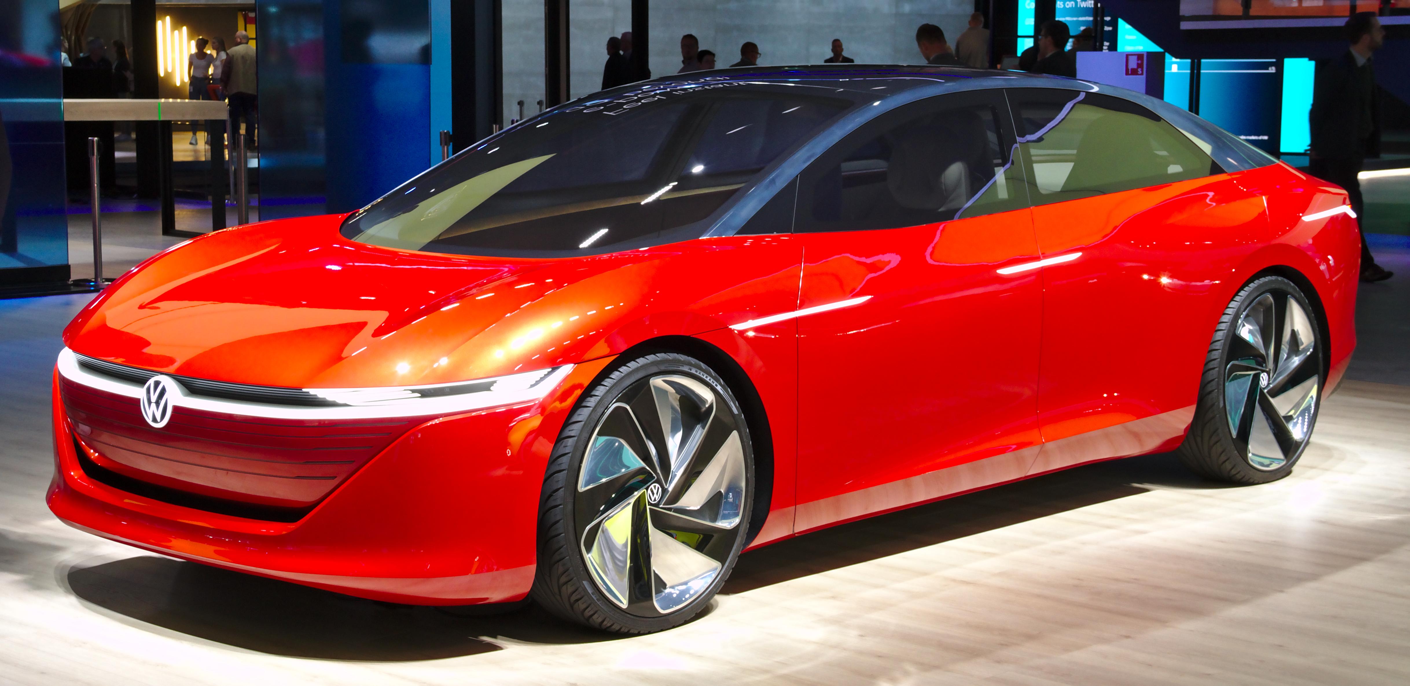 Volkswagen I.D. Vizzion - Wikipedia