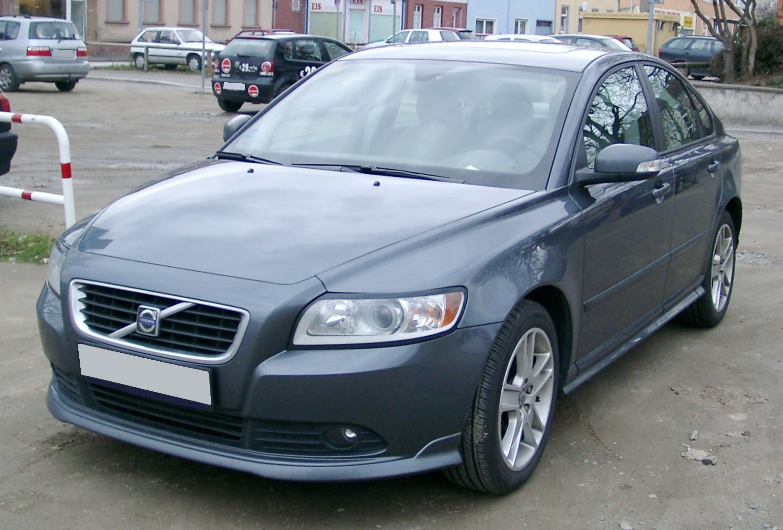 File Volvo S40 Front 20080121 Jpg Wikimedia Commons