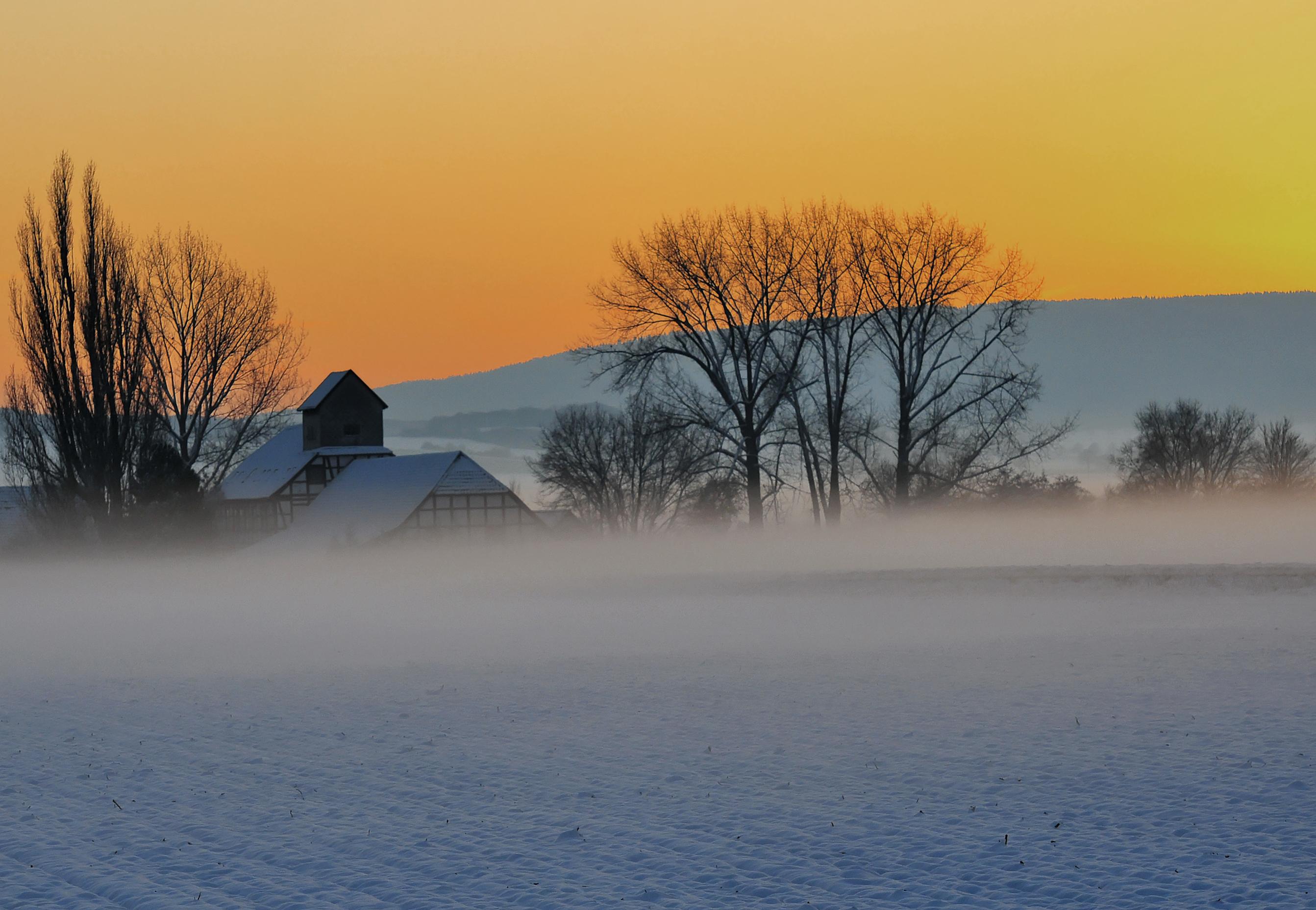 Herbst und Winter in Deutschland