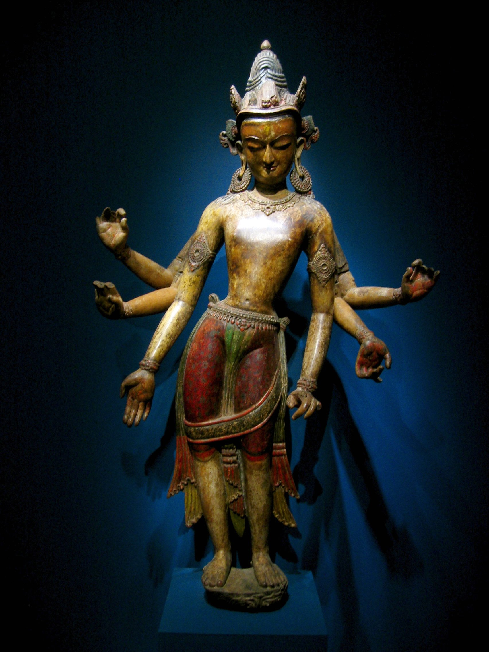 Avalokiteśvara in tribhanga