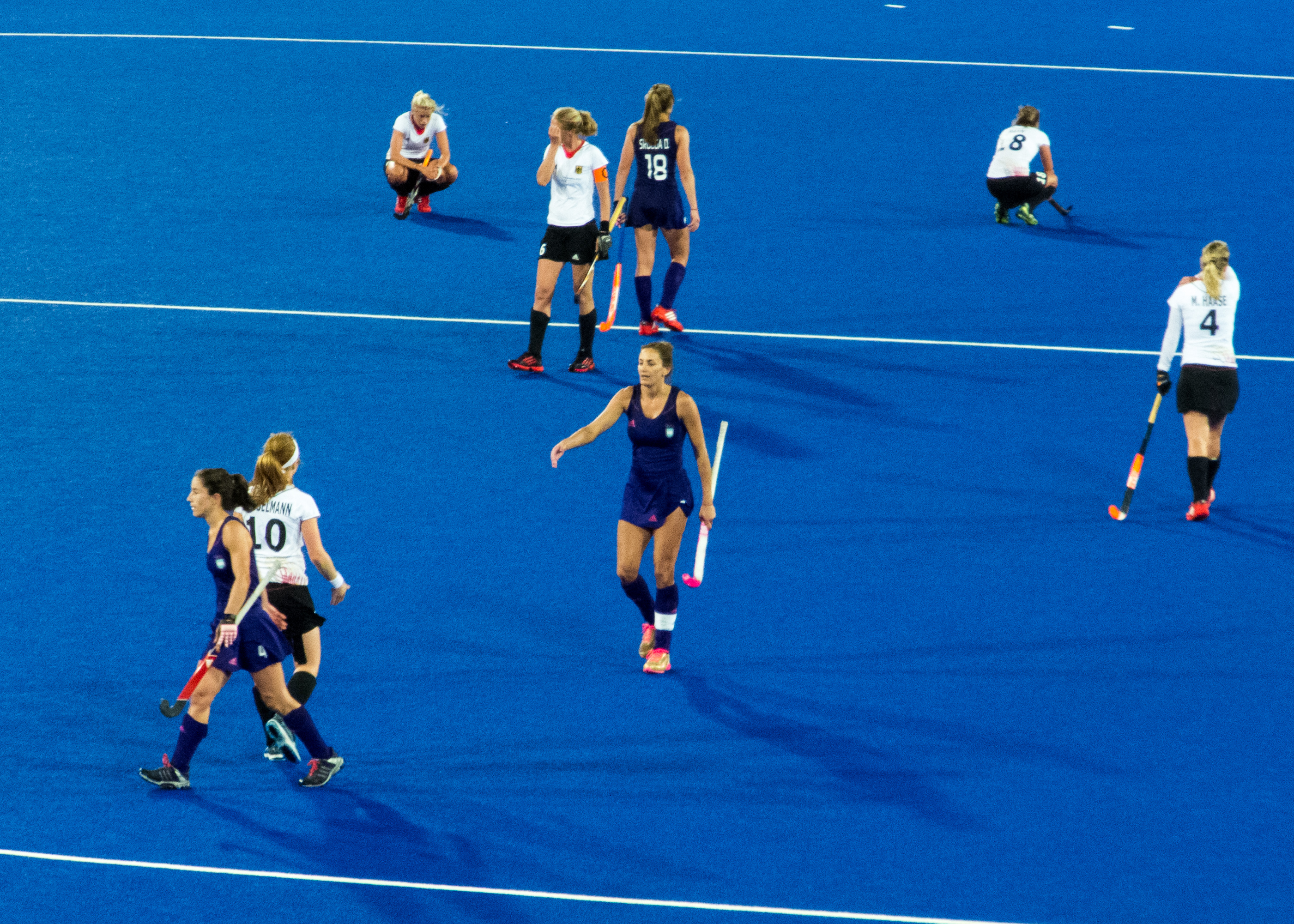 Image result for Argentina Women vs Germany Women hockey