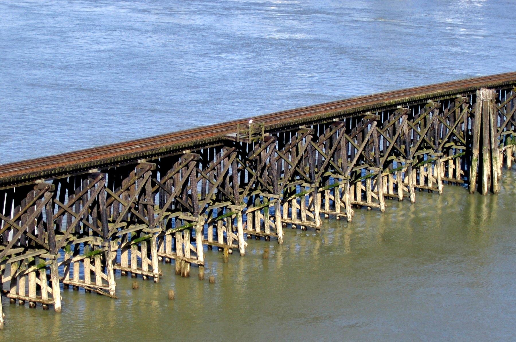 Trestle bridge - Wikipedia