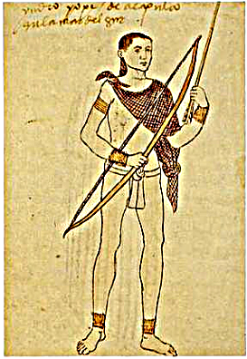 "Codex Tudela: ""Acapulco's Yope Indian, at the South Sea"" Yope Acapulco.png"
