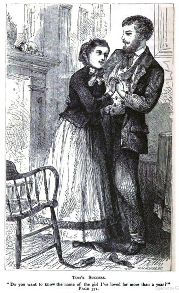 An old-fashioned girl (1870)