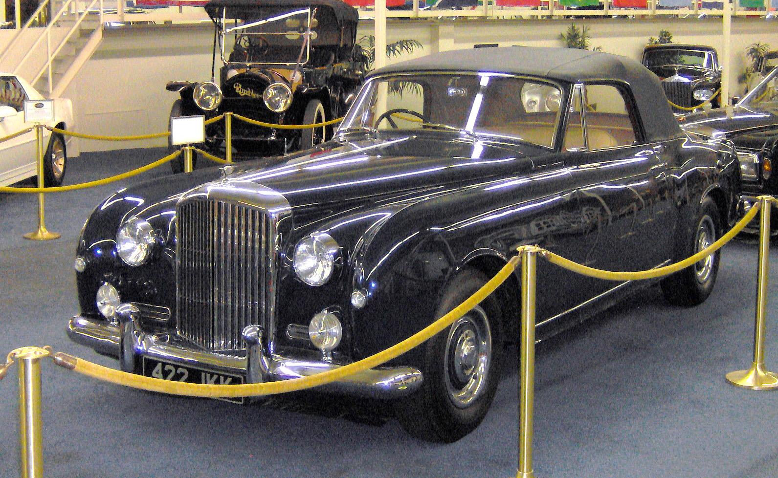 File:1955 Bentley S1 Continental Park Ward Drophead.JPG - Wikimedia ...