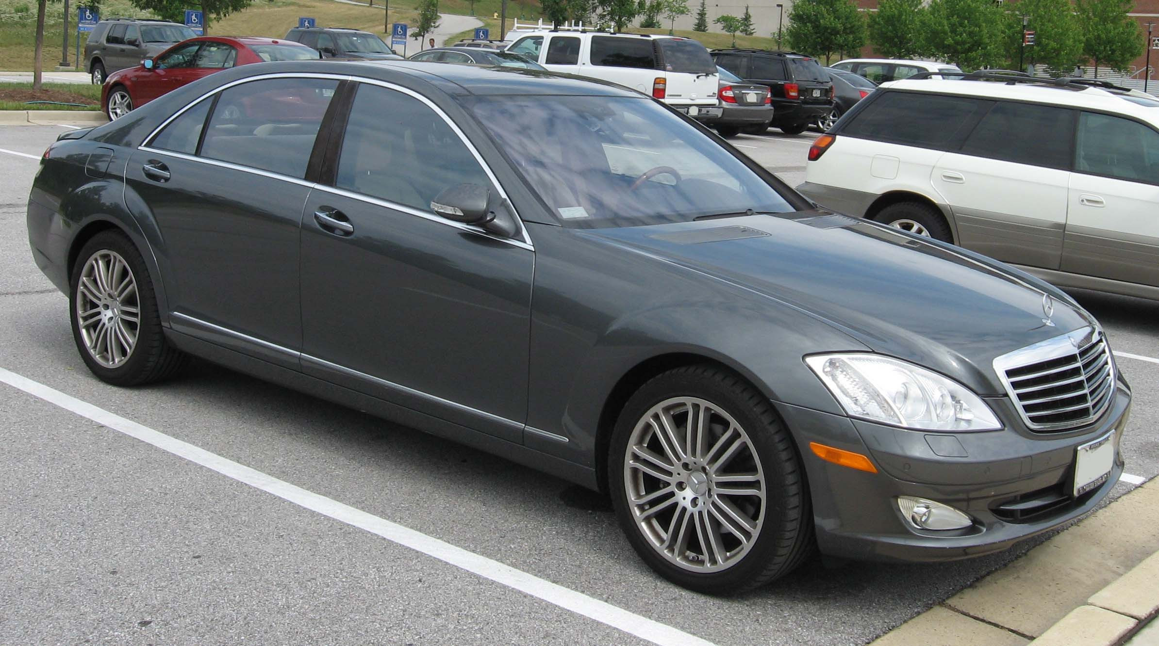 File 2007 mercedes benz wikimedia commons for Mercedes benz s550 2007