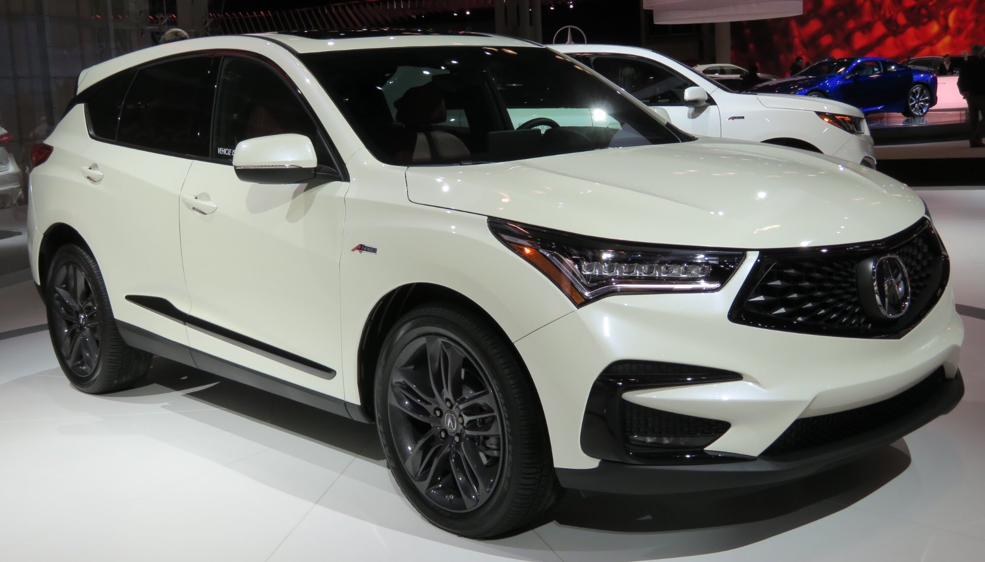 File 2019 Acura Rdx A Spec Front White 4 2 18 Jpg Wikimedia Commons