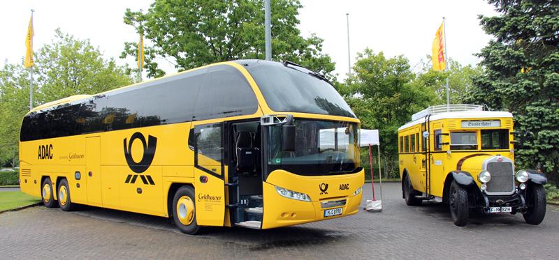 Bild eines Fernbus.