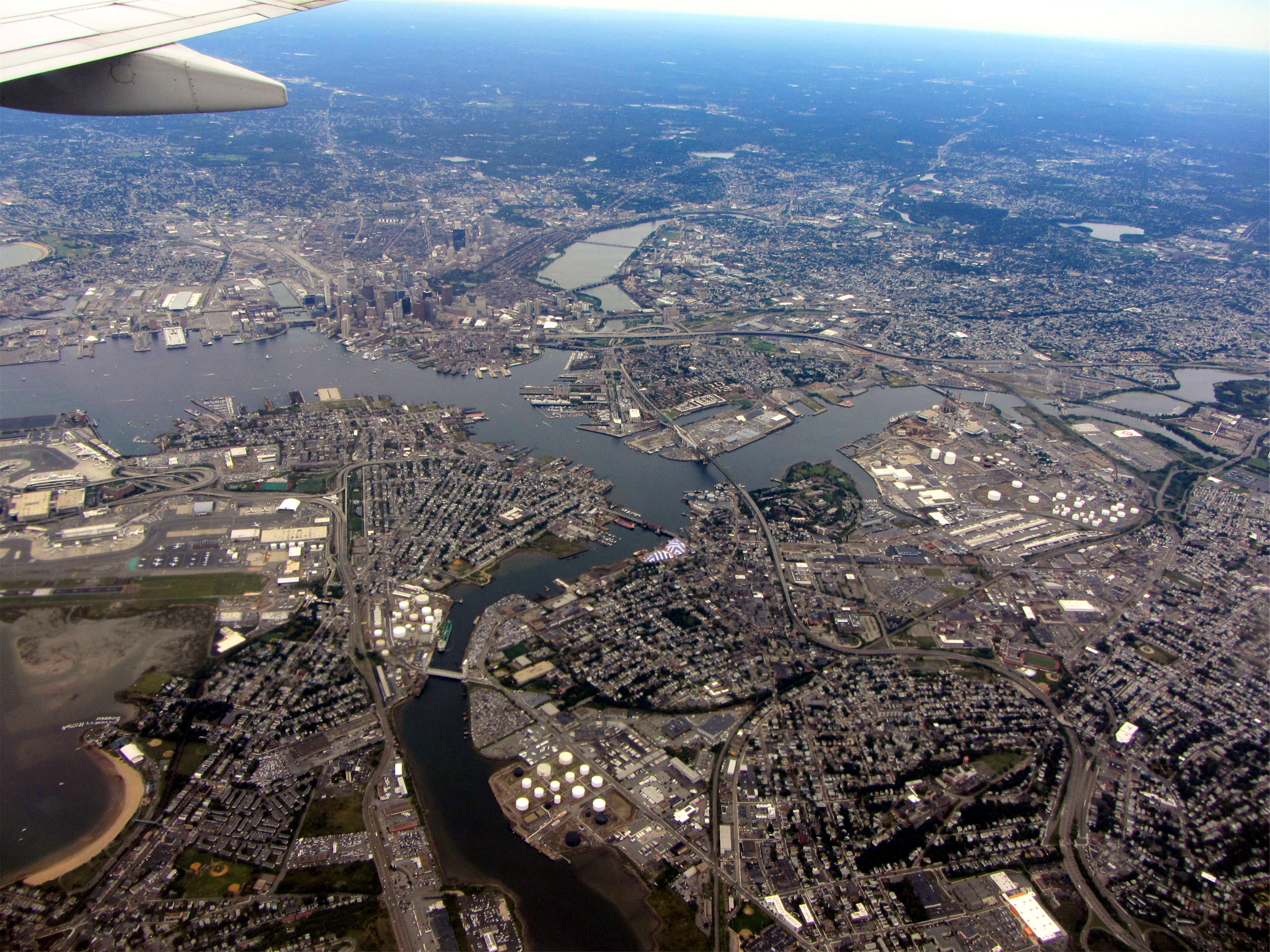 Image result for boston aerial view