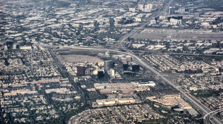 Coast metro john wayne airport and the irvine business district