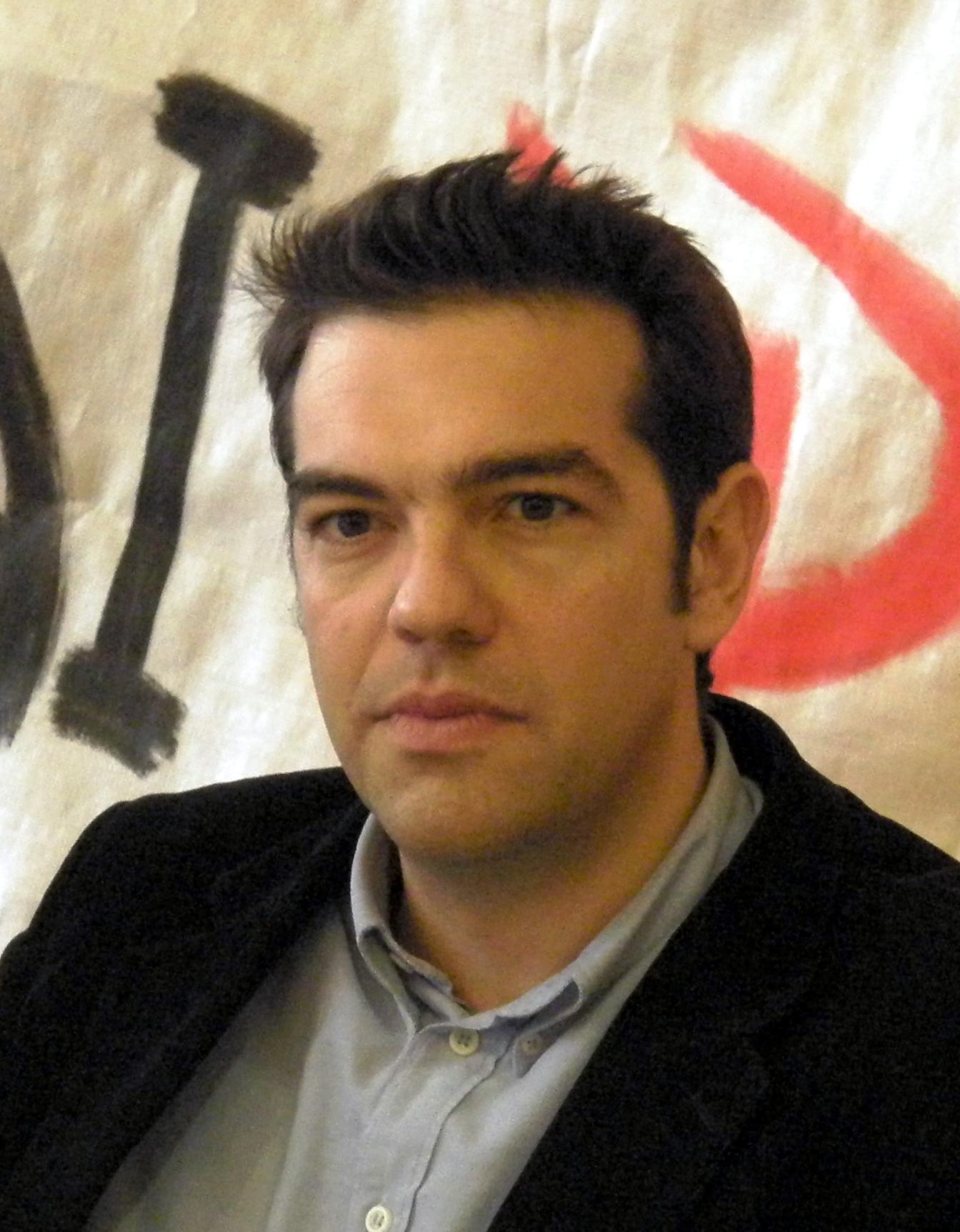 Photo d'Aleksis Tsipras