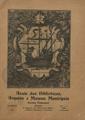 Anais das bibliotecas, arquivo e museus municipais, nº 1, Jul.-Dez. 1931, capa.jpg