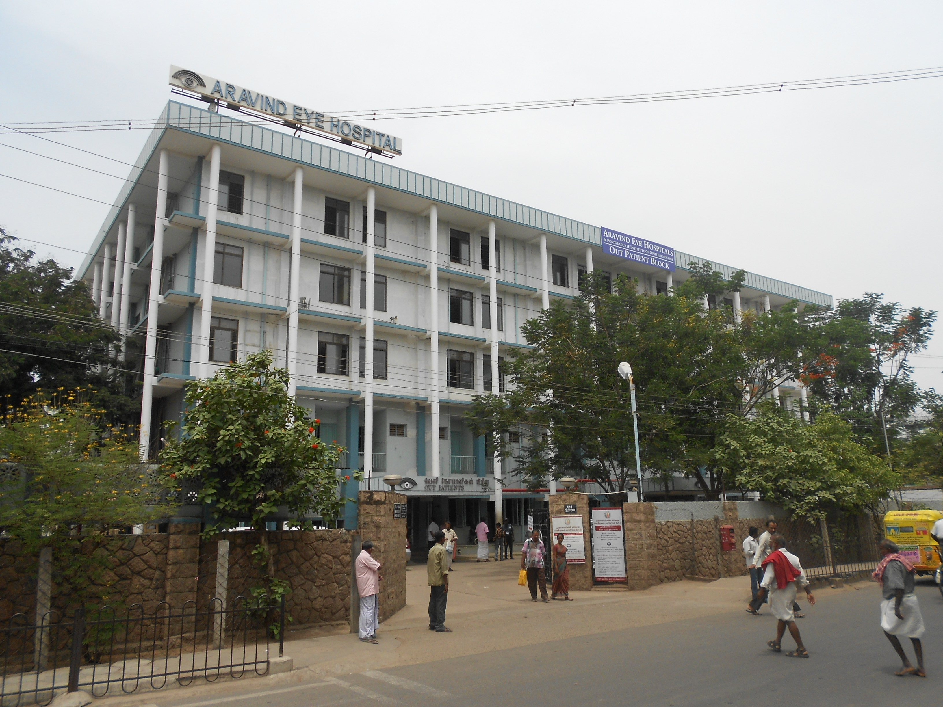 aravind eye hospital 4 Aravind operates a growing network of eight hospitals in south india where more than 350,000 eye surgeries are performed each year since its inception, aravind has handled more than 34 million outpatient visits and performed more than 43 million surgeries—60 percent of which are subsidized or provided free to the poor.