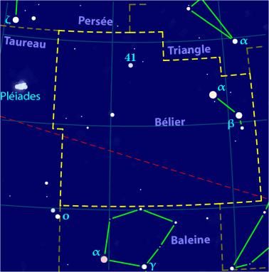 Carte pour la constellation Bélier Produite à l'aide du logiciel PP3 - Orthogaffe / Korrigan - Wikimedia Commons