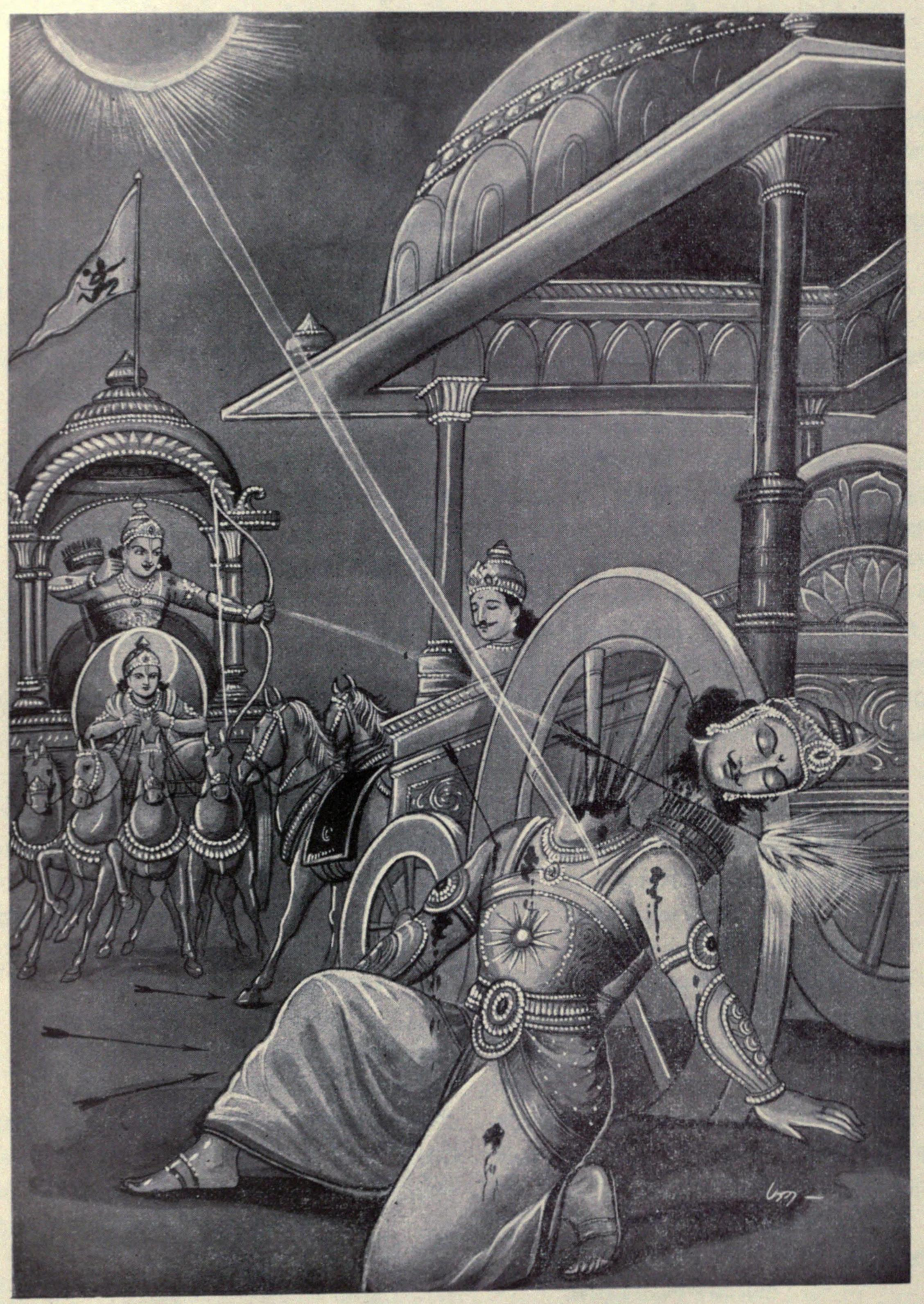 Arjun Kills Karna When He was Off Chariot and Violates Sacred Laws of War