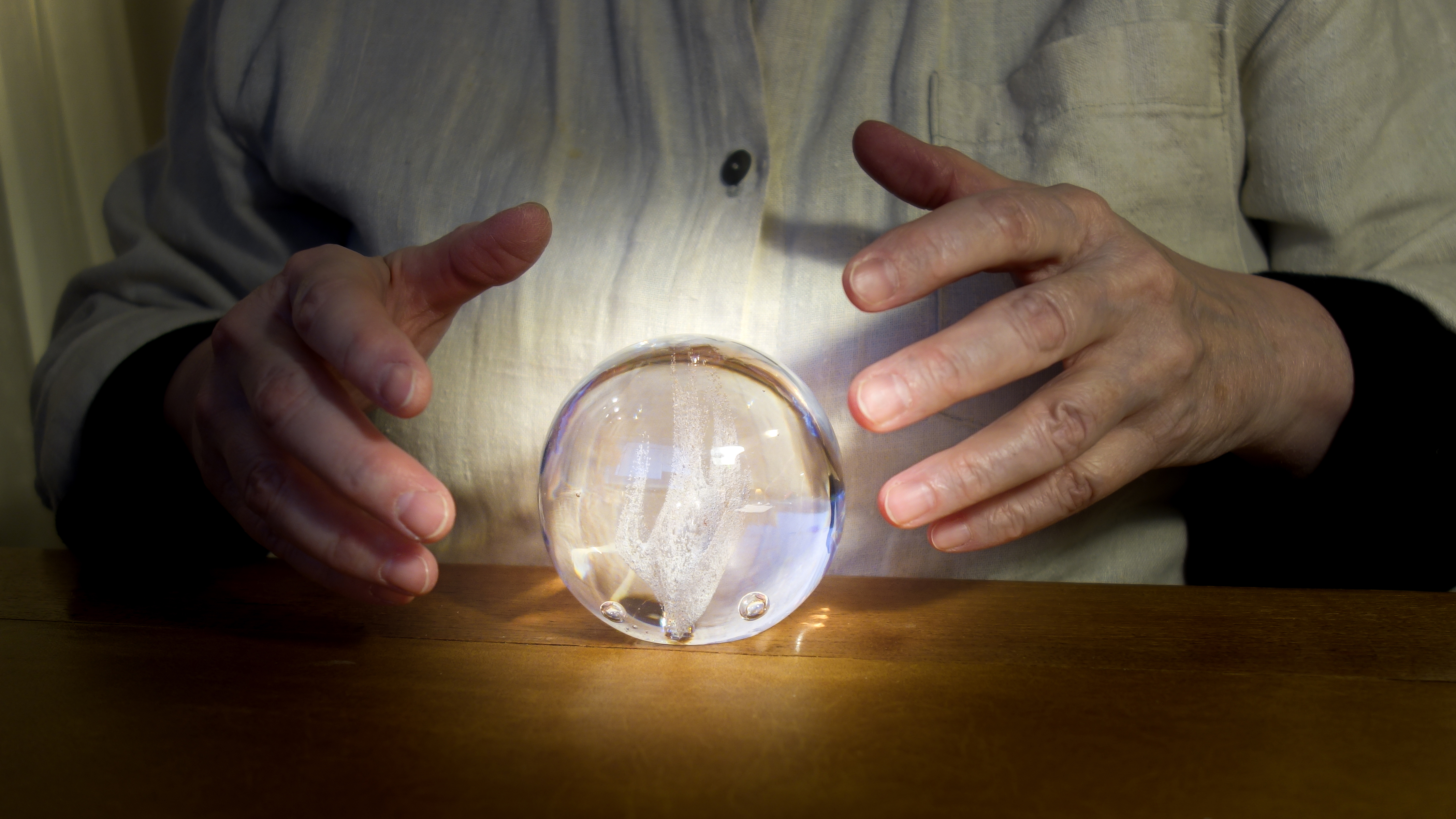 File:Asking the crystal orb.jpg - Wikimedia Commons