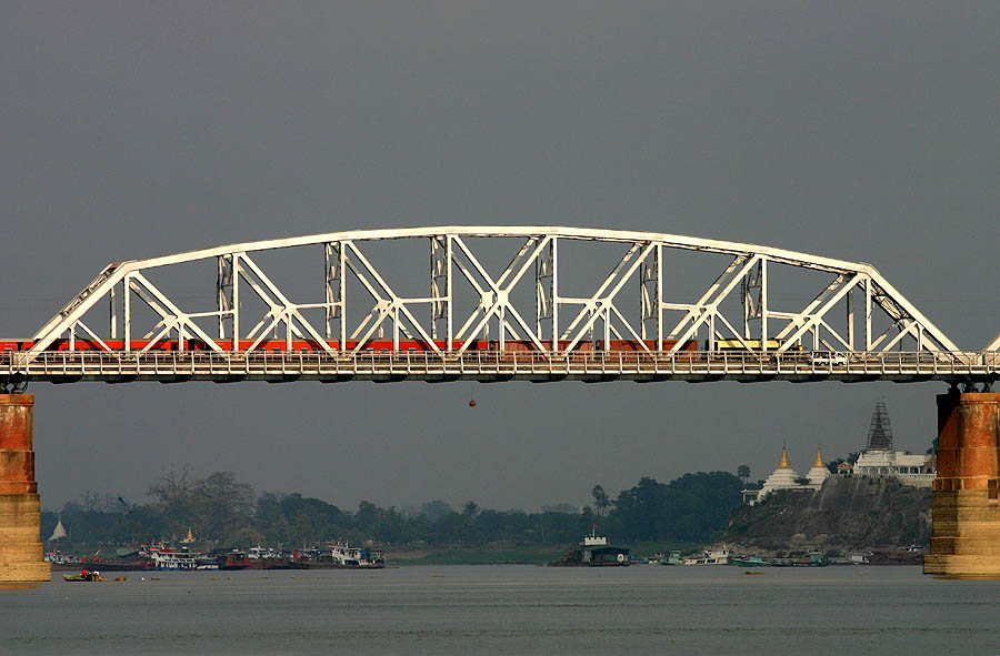 Roads And Bridges >> Ava Bridge - Wikipedia