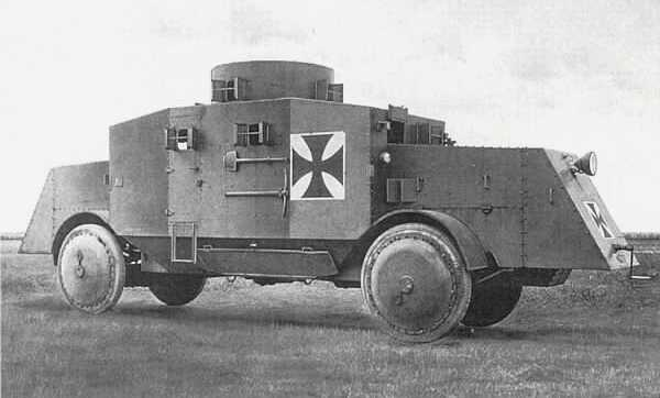 Büssing A5P german armored car