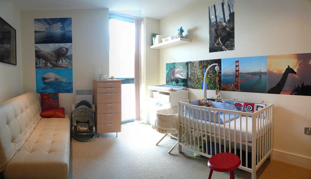 Simple Nursery Room Designs
