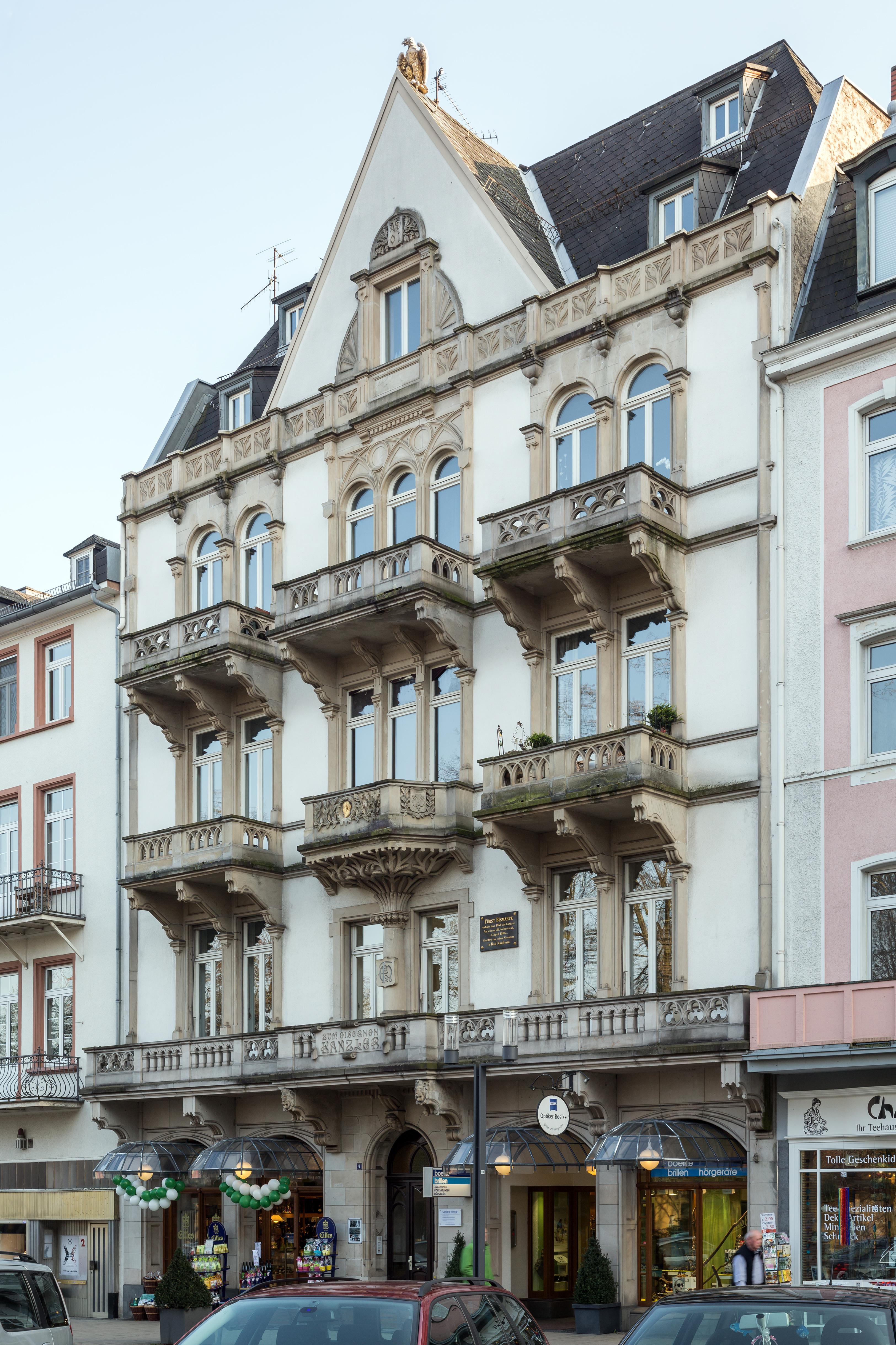 Datei:Bad Nauheim Parkstrasse 4 von Nordwesten 20140306.jpg