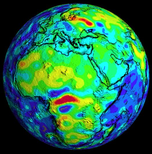 Magnetic Anomaly Map Of The World.Bangui Magnetic Anomaly Wikipedia