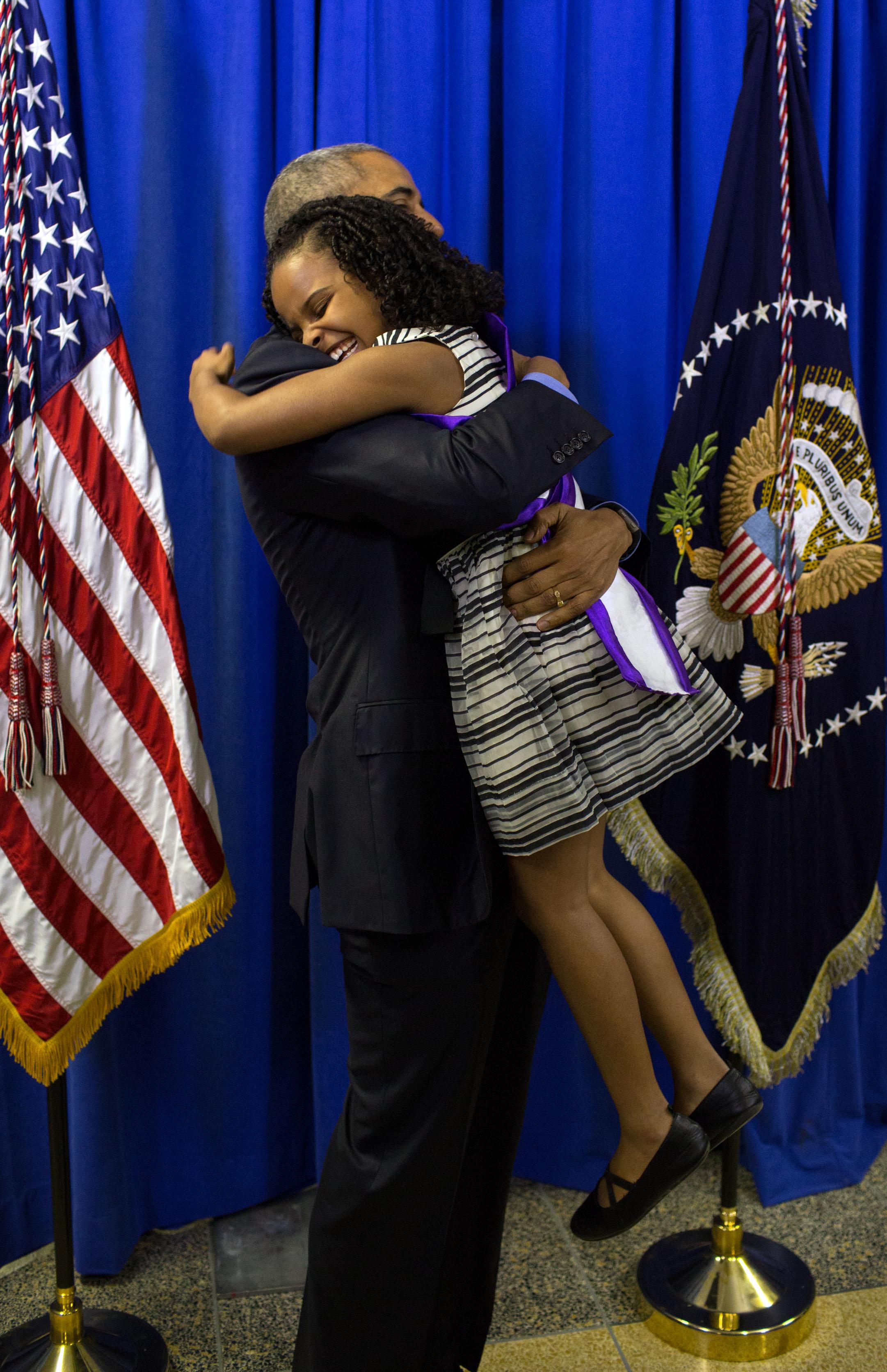 Resultado de imagen de mari and obama