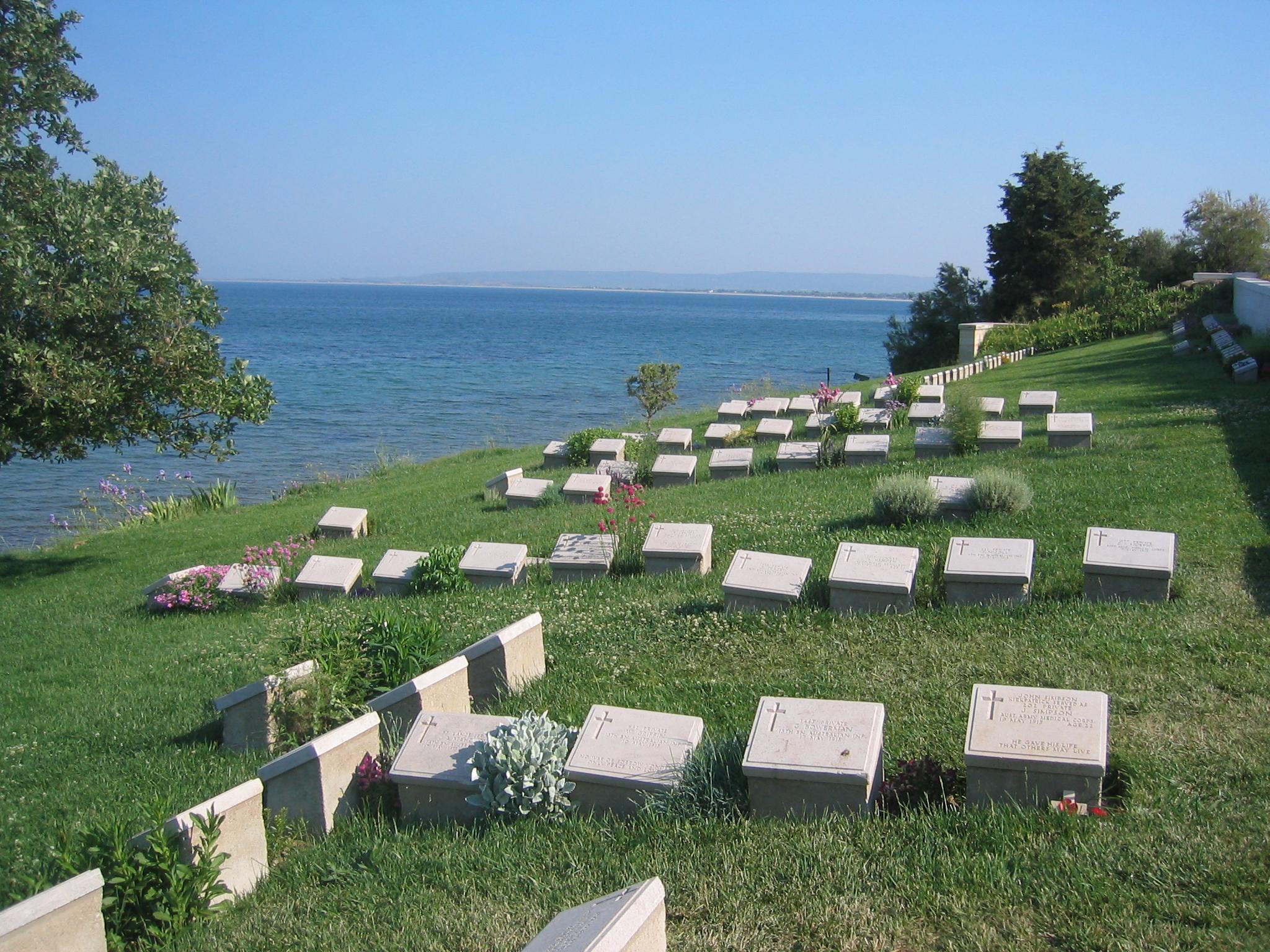 File:Beach CWGC Cemetery, Gallipoli.jpg - Wikimedia Commons