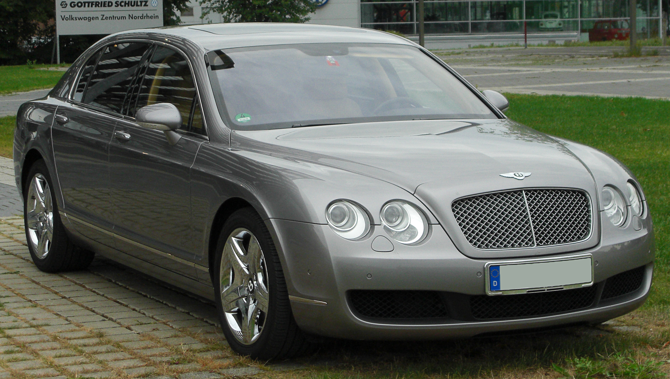 bentley continental flying spur, 2005 г