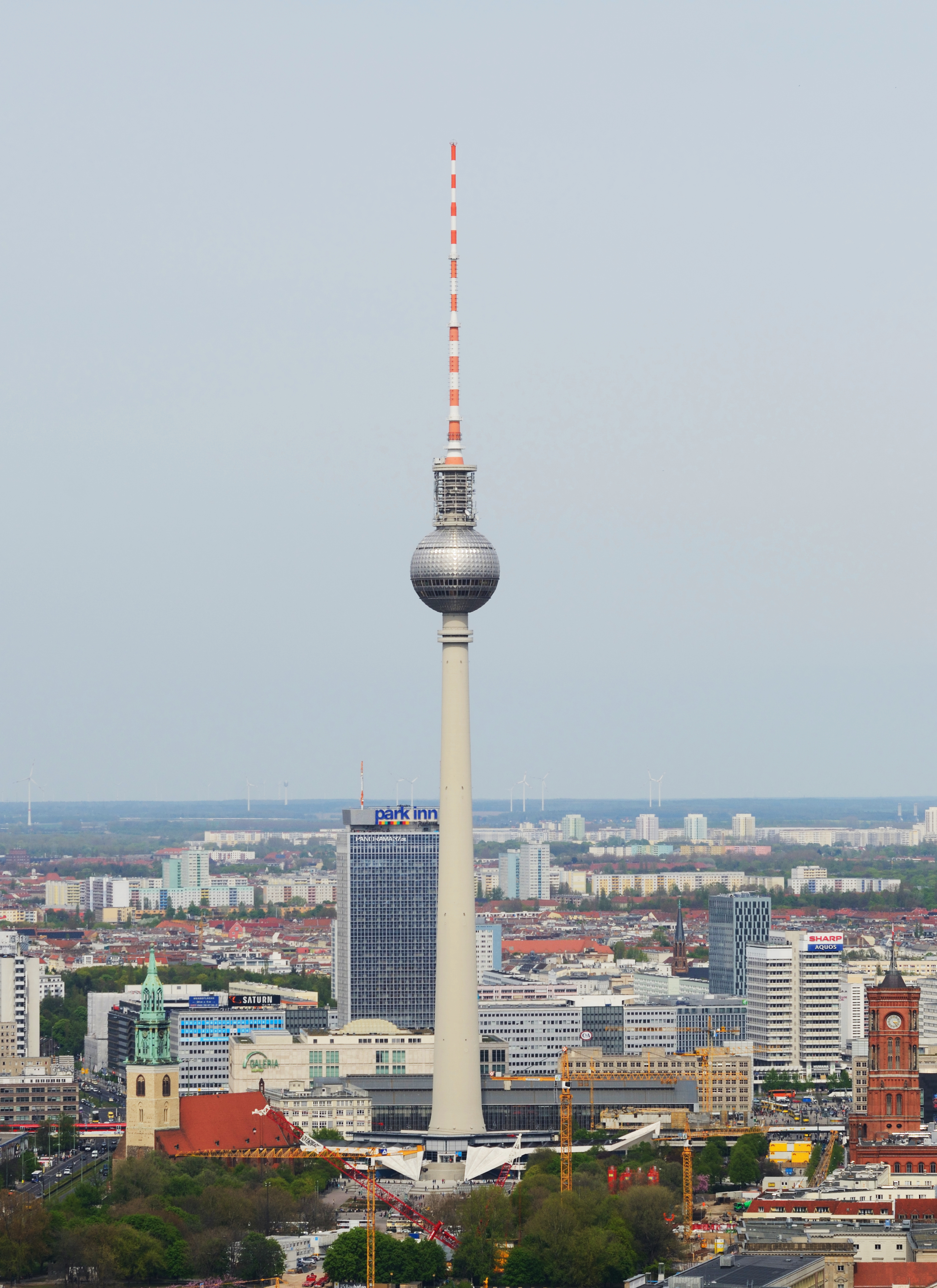 file berlin berliner fernsehturm aerial. Black Bedroom Furniture Sets. Home Design Ideas