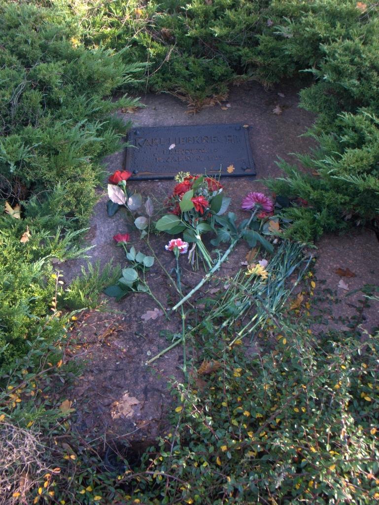 Grab von Karl Liebknecht